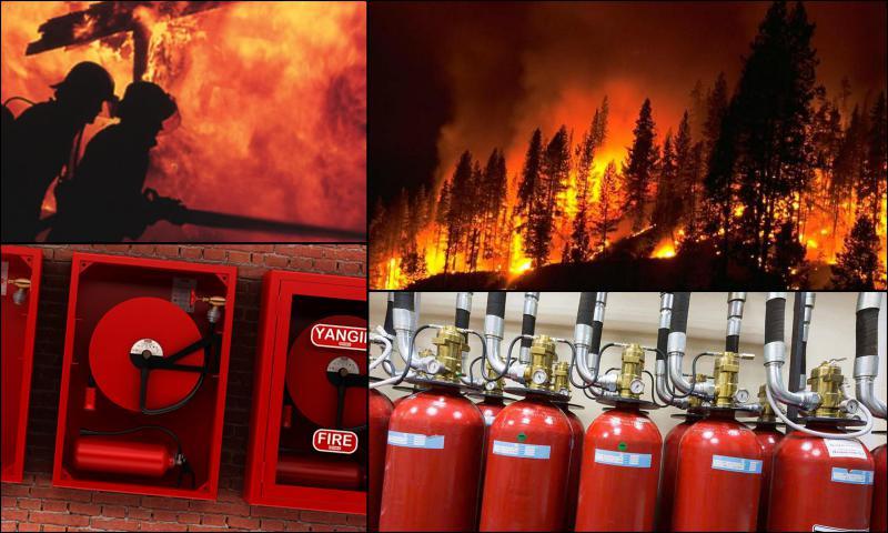 Uygun Fiyatlı Kaliteli Yangın Tüpleri