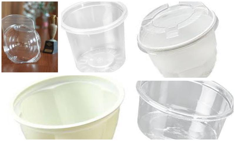 Sızdırmaz Plastik Yemek Kapları