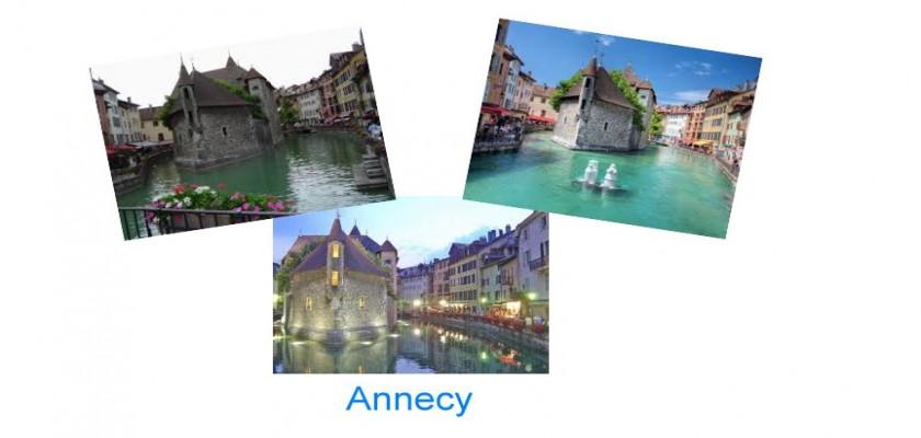 Alplerin Venedik'i, Annecy