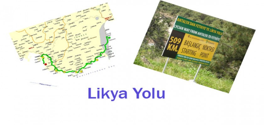 Bir Yürüyüş Tatili, Likya Yolu