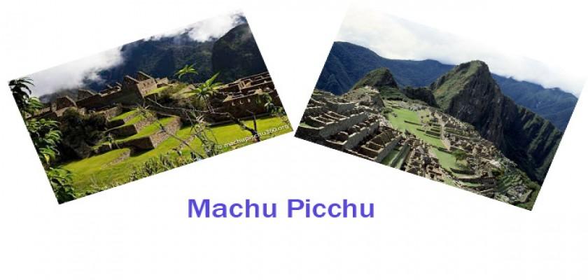 İnka Antik Şehri, Machu Picchu