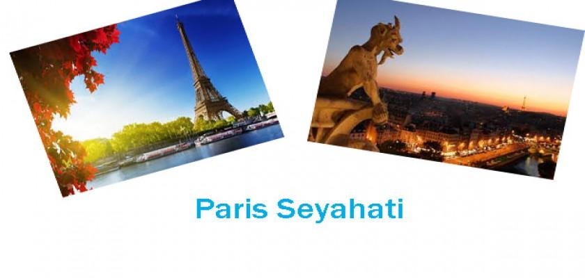 Paris'te Ne Yenir Ne İçilir Nerelere Gidilir
